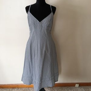 Talbots Gingham Dress Size 16